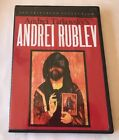 Andrei Rublev DVD 1999 Criterion Collection RARE  OOP 1966