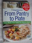 NEW SEALED WEIGHT WATCHERS FROM PANTRY TO PLATE SOFTCOVER COOKBOOK