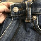 JCREW J Crew Sz 8 Small Vintage High Waist Straight Jeans Boyfriend Denim Rise