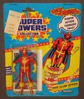 Super Powers Red Tornado 45 Action Figure 1985 MOC Kenner Carded DC Comics