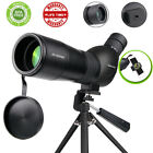 20x To 60x Zoom Angled Spotting Scope Monocular Telescope with Tripod Soft Case