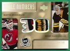 2005-06 The Cup #NN-BC MARTIN BRODEUR GERRY CHEEVERS PATCH 19 30 - JM20