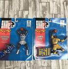 Vintage 1993 Shaquille O'neal Action Figures(2) Lsu And Magic