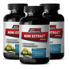 weight loss supp - NONI EXTRACT 500mg - 3 Bottles - brain memory power booster