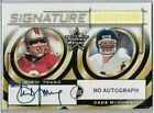 1999 Rookies & Stars Steve Young 49'ers On Card HOF Autograph 49 50