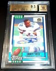 2015 Topps 60th Anniversary Retired Autograph Football Cards 12
