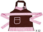 12 Count Cricut Cake Apron Child Size Pink Brown Jr Chef Girls Birthday Party
