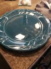 fiesta juniper 14.5 inch platter light scratches unused condition with tag
