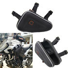 Universal Black Motorcycle Saddlebag Engine Guard Storage Pouch For HONDA CB190R