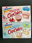 *2 Boxes* Hostess Strawberry Cupcakes Birthday Cake  Limited Edition Twinkies