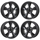 20 CHALLENGER CHARGER RT BLACK CHROME WHEELS RIMS FACTORY OEM 2385 EXCHANGE