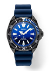 Seiko SRPD09 Prospex Gray Ion Steel Blue Dial 44mm Diver Automatic Wrist Watch