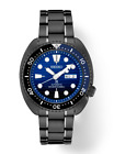 Seiko SRPD11 Prospex Gray Ion Steel Blue Dial 45mm Diver Automatic Wrist Watch