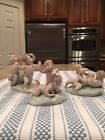 Lladro 5804 Playing Tag AND 5805 Tumbling AND 5806 Tickling - Mint Condition