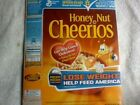 The Biggest Loser Honey Nut Cheerios Empty Cereal Box + Loser Book 2008 VF+