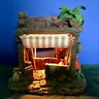 Fontanini Nativity 5 Scale Lighted Building Shepards Camp w Box and Cord