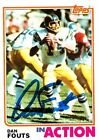 Dan Fouts Cards, Rookie Card and Autographed Memorabilia Guide 18