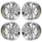 18 LINCOLN MKT PVD CHROME WHEELS RIMS FACTORY OEM SET 3769