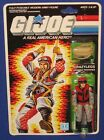 GI Joe Crazylegs 375 Action Figure 1987 MOC Carded Hasbro Vintage O Ring ARAH