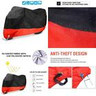Waterproof Motorcycle Cover Ohuhu Moped Cover All Season BlackRed