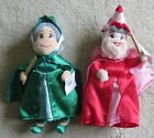 Disney Flora & Fauna Fairies Plush Beanies From Sleeping Beauty New with Tags