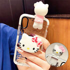 Cute Hello Kitty Doll Stand Holder Diamond Case Cover for Samsung S10+ S8 Note 9