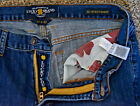 Genuine Lucky Brand 361 Vintage Straight Size 32 x 32 Blue Jeans in Great Shape