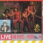 Live in NYC - 1975: Red Patent Leather by New York Dolls (CD, Sep-2001, Sanctuar