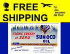Sunoco Oil Flows Freely Ink Blotter Schuylkill Haven Rt 122 Orwigsburg Pike Pa