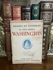 Vtg. 1938 Amoco / American Oil Points of Interest In Washington D.C. Guidebook