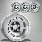 1976 1979 Corvette C3 15x8 Satin Finish w Black Center YJ8 Wheels Car Set 642376