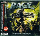 RAGE SPEAK OF THE DEAD 2006 JAPAN CD +1 - BRAND NEW FACTORY SEALED GIFT QUALITY!
