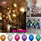 50x Metallic Balloons Chrome Shiny Latex 12 Thicken For Wedding Party Baby USA