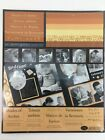 Creative Memories 10x12 Shades of Amber Photo Mounting Paper Print