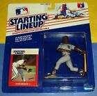 1988 CHRIS BROWN San Diego Padres EX/NM Rookie - FREE s/h- sole Starting Lineup