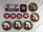 Vintage Texaco Lot Patches Jacket Hat Patch Gas Oil Service Station