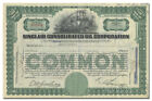 Sinclair Consolidated Oil Corporation Stock Certificate