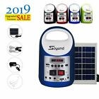 Blue Portable Generator Solar Panel Power Inverter Electric Generator kit NEW