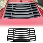 Fits 2016 2020 Chevy Camaro Rear Window Windshield Louvers Cover Sun Shade ABS