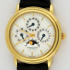 Audemars Piguet 18K Gold Automatic Quantieme Perpetual Calendar Moonphase 30mm
