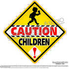 Caution Children Ice Cream Concession Food Truck Child Safety Sign Decal Sizes