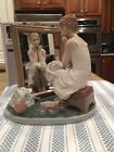 Lladro 1411 Day Dreamer - Norman Rockwell Series. Mint Condition