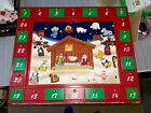 RARE Talking Advent Calendar Nativity Christmas Kurt Adler Magnetic Holiday