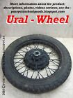Ural  Wheel (Motorcycle ИМЗ) original classic production of the USSR!