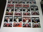 2015 Topps Spring Fever Baseball Complete Set #1-50 Mike Trout Bryce Harper