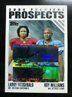2004 TOPPS ROY WILLIAMS & LARRY FITZGERALD AUTO 33 50