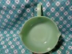 Vintage Fire King Jadeite 2 Spout Skillet in Very Good Condition