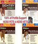 Sentry Worm X Plus 7way De Wormer 2or6 DogsPuppies TapewormHookwormRoundworm