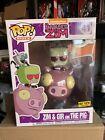 Funko POP ZIM and GIR on the PIG #41 Hot Topic Exclusive Limited LARGE VIEW PICS