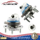 PAIR LeftRight Front Wheel Hub Bearing w ABS Assembly For Chevy Cadillac Buick